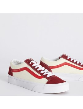 Retro Sport Style 36 Sneakers In Red by Little Burgundy