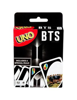Uno Bts Themed Card Game For 2 10 Players Ages 7 Y+ (Online Only) by Uno