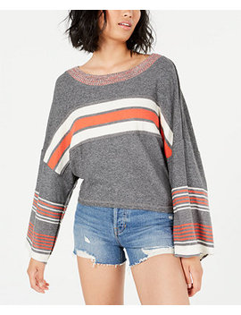 Cooper Striped Long Sleeve T Shirt by General