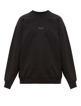 Femke Logo Print Cotton Sweatshirt by Acne Studios