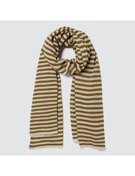 Stripe Knit Scarf by Seed Heritage