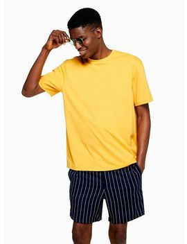 Yellow Oversized T Shirt by Topman
