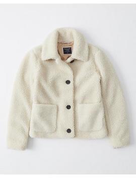 Cozy Teddy Jacket by Abercrombie & Fitch