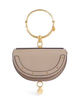 Small Nile Bracelet Calfskin Leather Minaudiere by ChloÉ