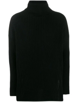 Knitted Turtle Neck Jumper by Ann Demeulemeester
