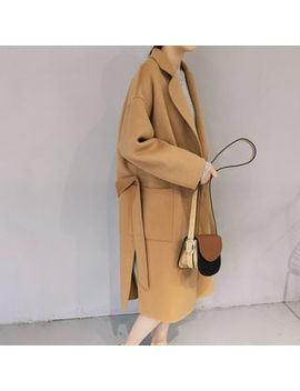 Onespark   Open Front Long Coat by Onespark