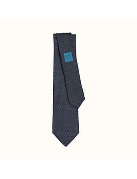 Tie 7 Dark Spot Tie by Hermès