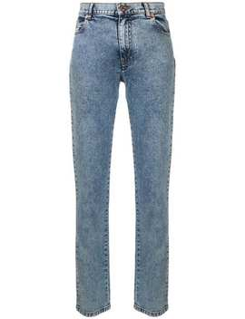 Faded Straight Leg Jeans by See By Chloé