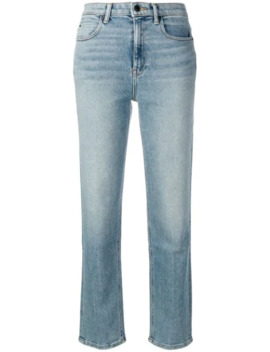 Cropped Straight Leg Jeans by T By Alexander Wang