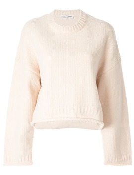 Oversized Cropped Jumper by T By Alexander Wang