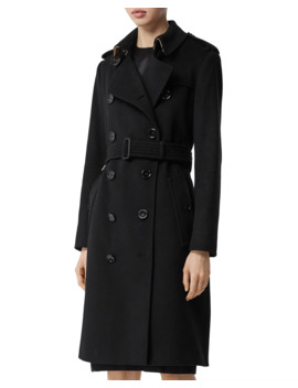 Kinsington Cashmere Trenchcoat by Burberry
