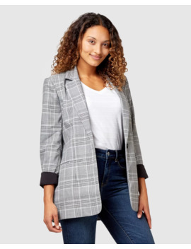 Marnie Check Jacket by Jeanswest