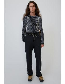 Fleece Trousers Faded Black by Acne Studios