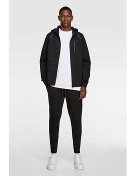 Jogging Pants With Zippers Joggers Trousers Man by Zara