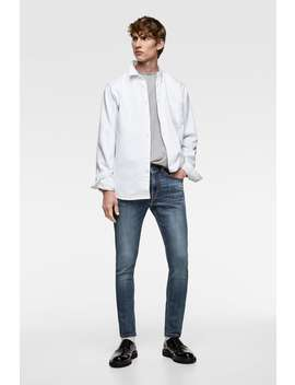 Basic Skinny Jeans  Basics Jeans Man by Zara