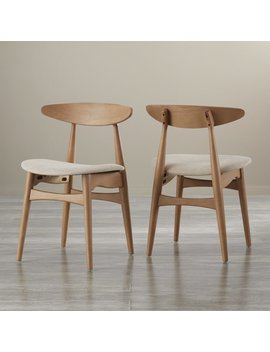 Caro Solid Wood Dining Chair by Modern Rustic Interiors