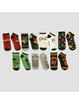 Women's 7pk Harry Potter A Week Of Socks Box   Color May Vary One Size by Color May Vary One Size