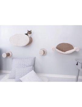 Glinda Wall Mount Cat Playground Cat Perch by Archie & Oscar