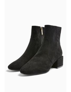 Kansas Black Smart Boots by Topshop