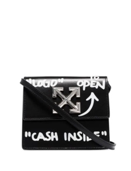 Jitney 0.7 Cash Inside Crossbody Bag by Off White