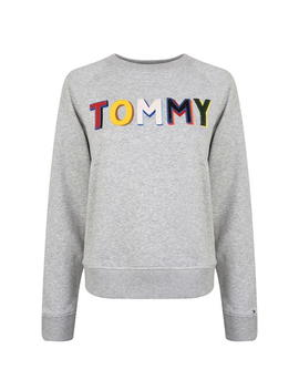Francesca Logo Sweatshirt by Tommy Hilfiger