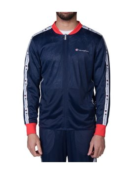Champion Reversible Mesh Jacket  Navy by Champion