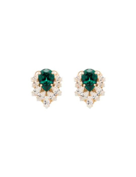 Crystal Cluster Earrings by Anton Heunis