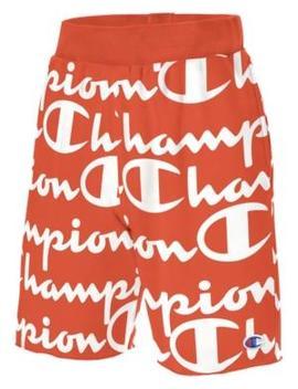 Champion Reverse Weave Cut Off Short  Papaya by Champion