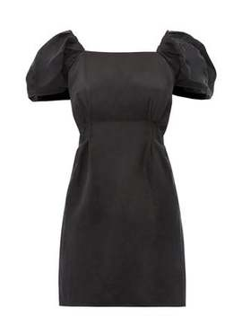 Inez Scoop Back Linen Blend Mini Dress by Sir