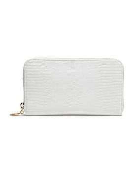 Lizard Effect Faux Leather Wallet by Stella Mc Cartney