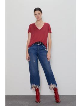 Basic Lyocell T Shirtnew In Woman by Zara