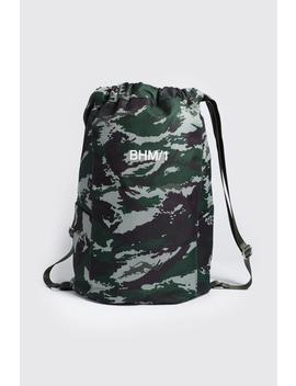 Man Drawstring Backpack by Boohoo