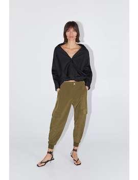 Loose Fit Cargo Trousers  Trouserswoman by Zara