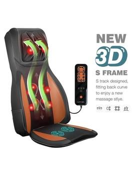 Full Body Neck Back Massager Shiatsu Massage Chair Car Seat Cushion Orange by Crazy Sales