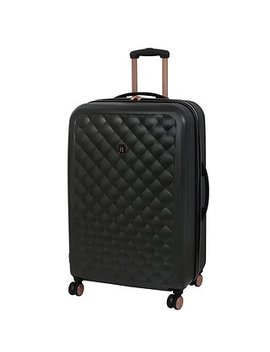 It Luggage Dark Grey Hard Shell 30 Inch Suitcase by Dunelm