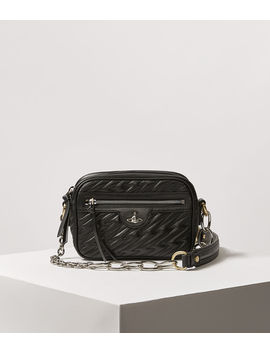 Coventry Camera Bag Black  by Vivienne Westwood