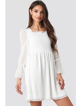 Giped Mini Dress Weiß by Trendyol