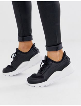 Puma Rs 0 Sound Trainer In Black by Puma
