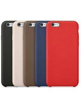 Original Pu Soft Silicone Leather Slim Case Cover Apple I Phone 10 8 7 Plus 6s 5 by Unbranded/Generic