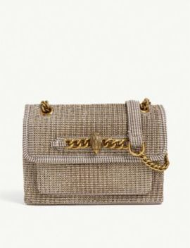 Chelsea Small Beaded Shoulder Bag by Kurt Geiger London