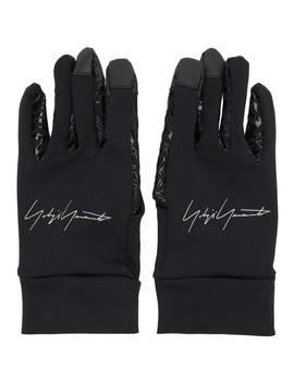 Black New Era Gloves by Yohji Yamamoto