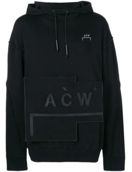 Kapuzenpullover Mit Logo Patch by A Cold Wall*
