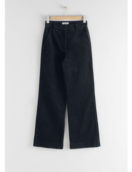 Corduroy Flared Trousers by & Other Stories