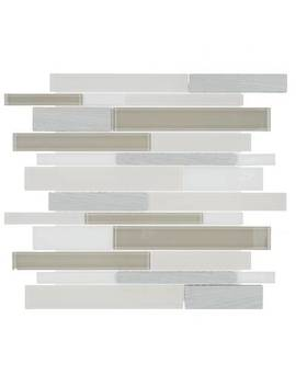 "Harrison 6"" X 6"" Natural Stone Mosaic Tile by Itona Tile"