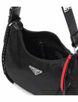 Gabardine Shoulder Bag by Prada