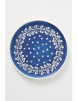Set Of 4 Pallu Dinner Plates by Anthropologie