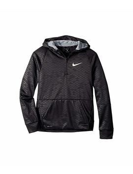 Therma 1/2 Zip Training Hoodie (Big Kids) by Nike Kids