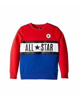 All Star Paneled Crew (Big Kids) by Converse Kids