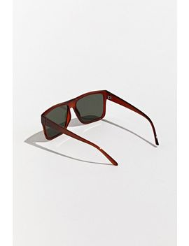 '80s Flat Top Square Sunglasses by Urban Outfitters