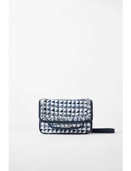 Tweed Rock Crossbody Bag  New Inwoman by Zara
